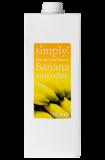 Smoothie Simply Banan 1L