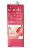 Smoothie Simply Truskawka i Banan 1L
